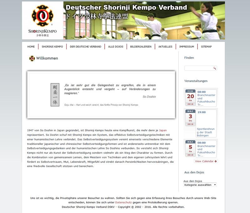Projekt Shorinji Kempo Verband Deutschland