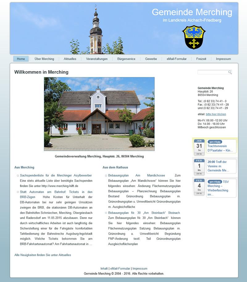 Projekt Gemeinde Merching