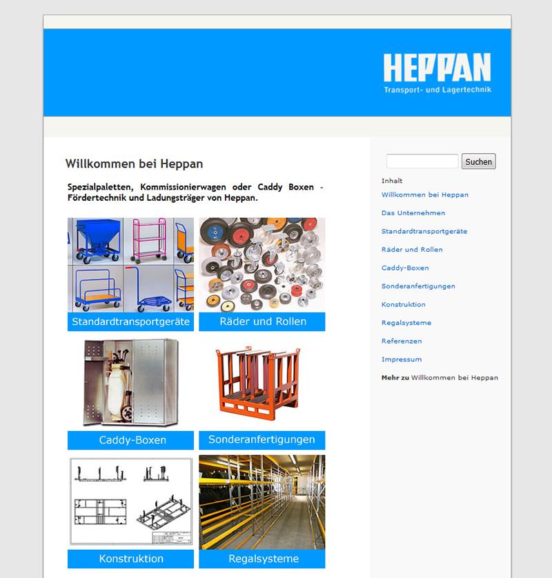 Projekt HEPPAN