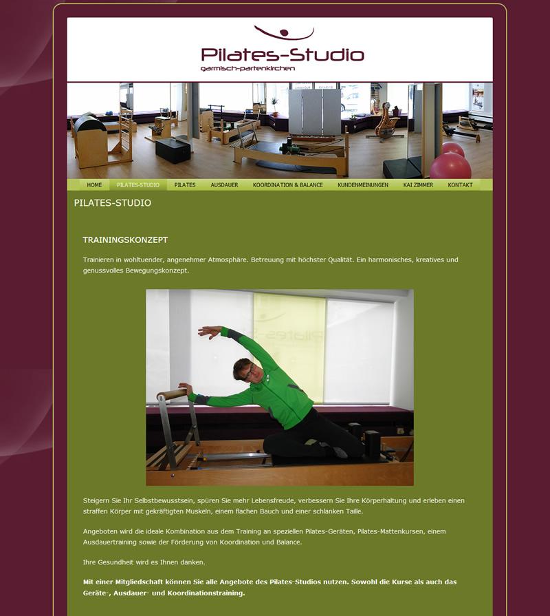 Projekt Pilates-Studio Garmisch-Partenkirchen
