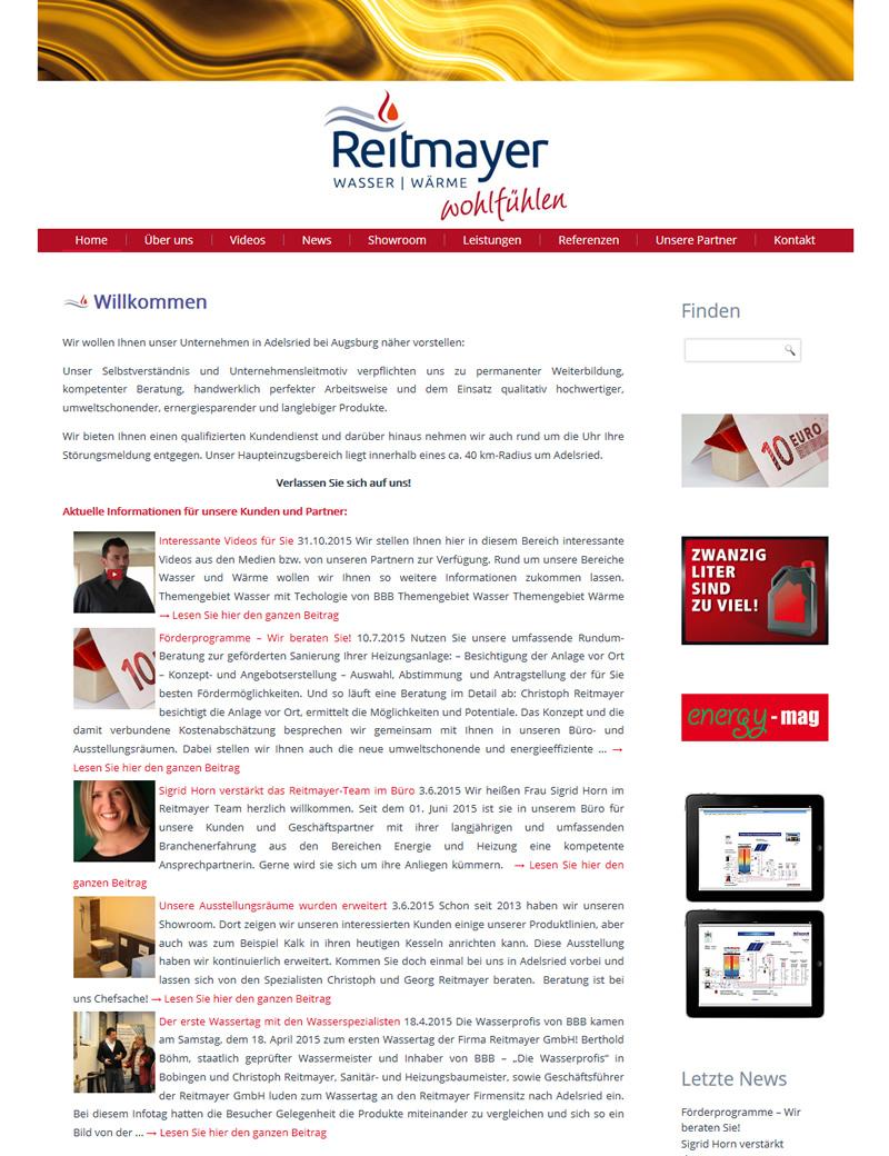 Projekt Reitmayer GmbH