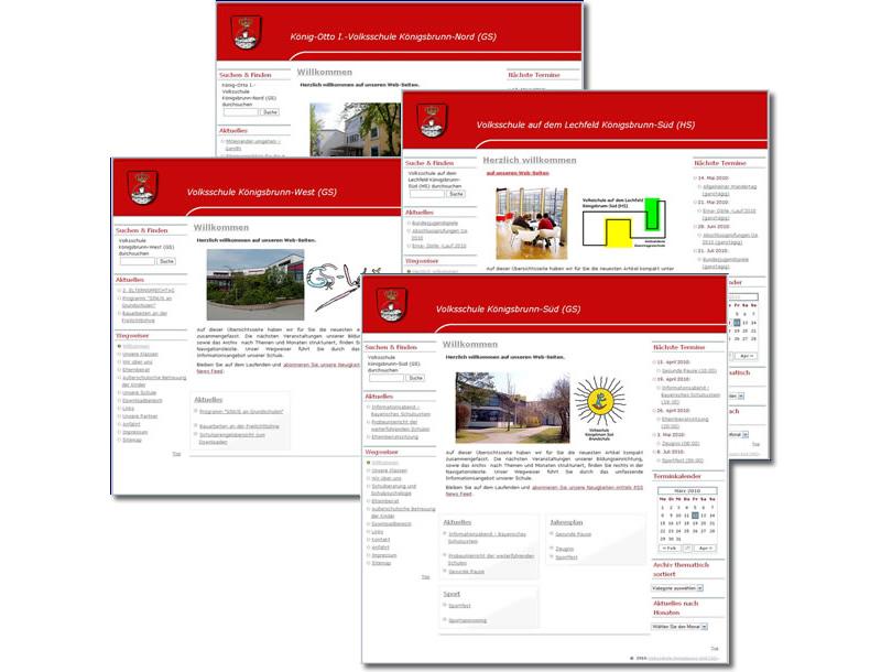 Projekt Schulen Königsbrunn 2010