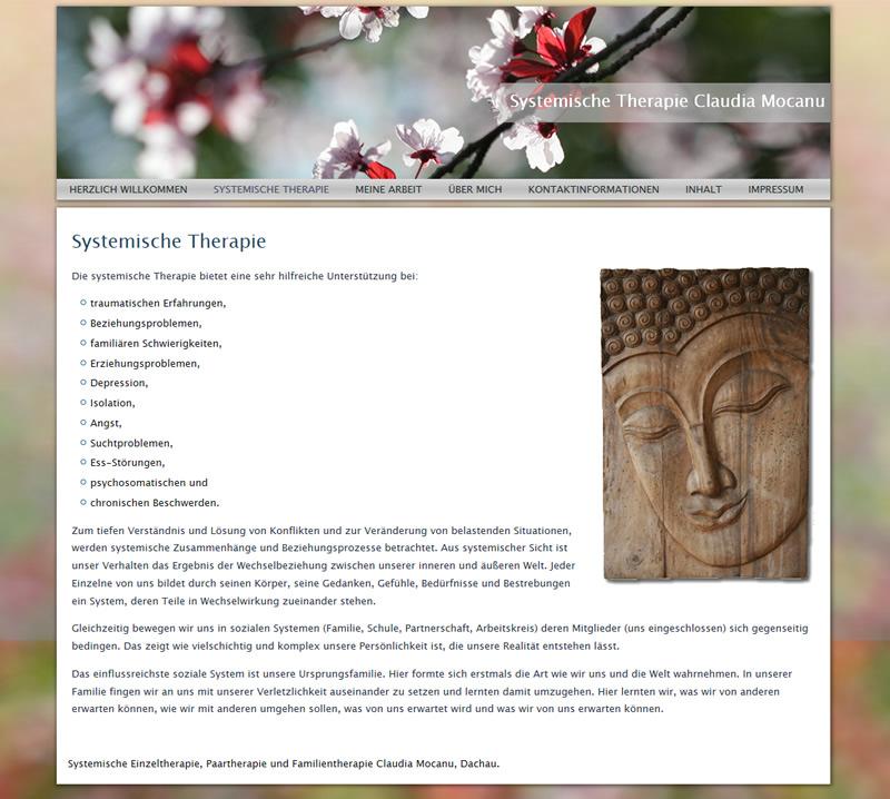 Projekt Systemische Therapie Claudia Mocanu