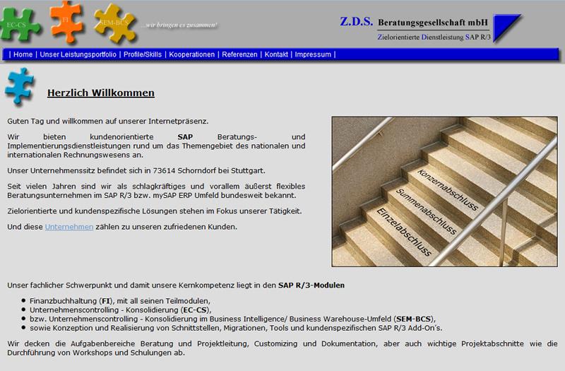 Projekt Z.D.S. Beratungsgesellschaft mbH