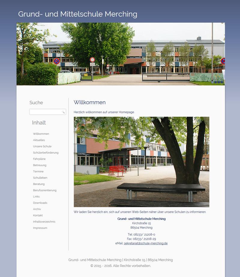Projekt Grund- und Mittelschule Merching
