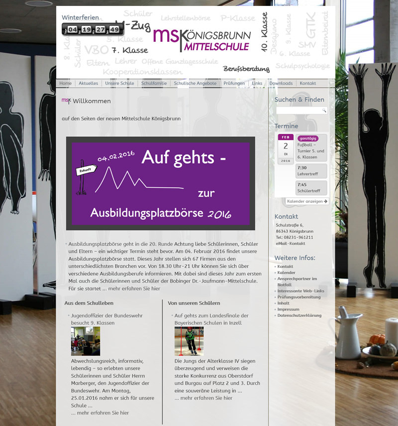 Projekt Mittelschule Königsbrunn