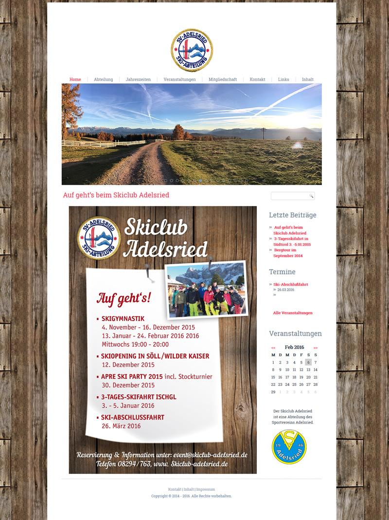 Projekt Skiclub Adelsried